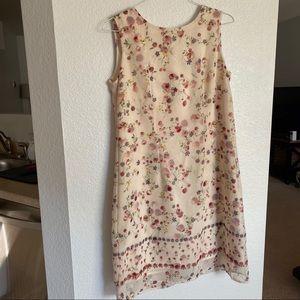 Hilliard & Hansen • floral mid-length dress